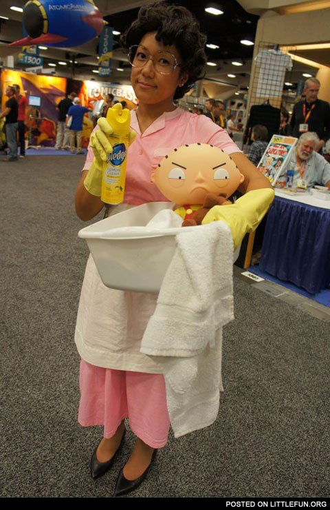 Family Guy Consuela cosplay