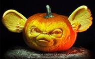Impressive pumpkin carving
