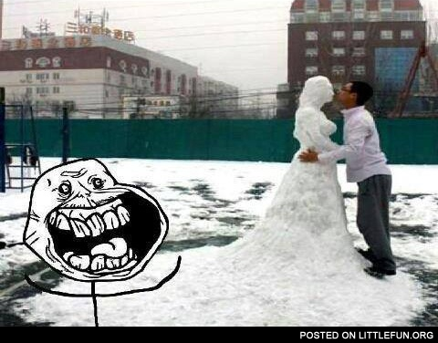 Forever alone level: winter