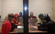 Superheroes at work
