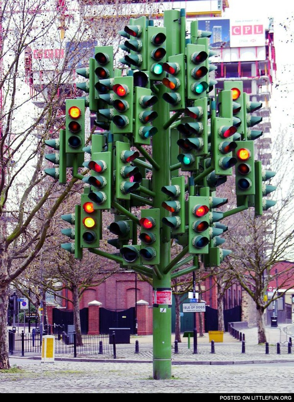 Too many traffic lights