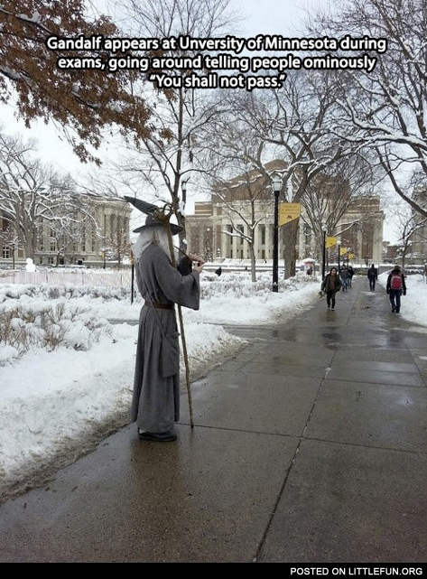 Gandalf at University of Minnesota