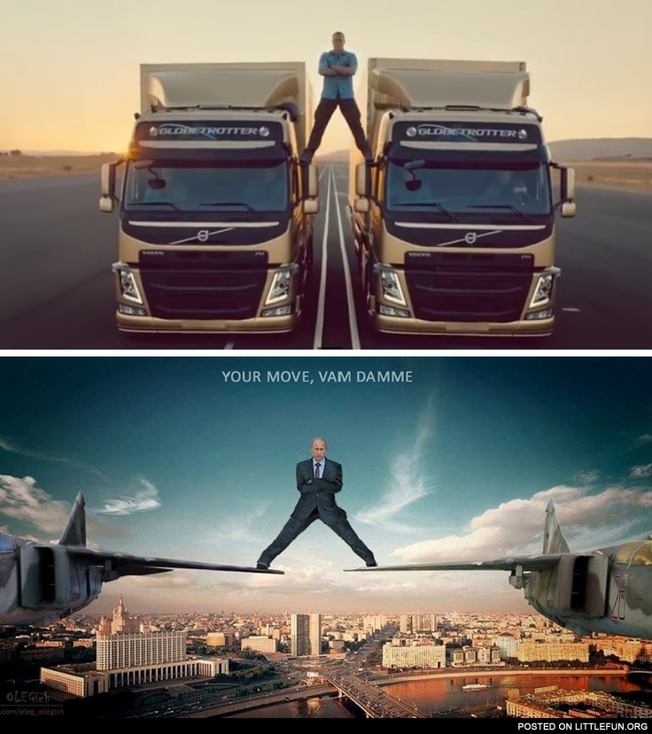 LittleFun - Van Damme vs. Putin - Volvo Trucks Commercial
