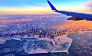 Chicago's deep freeze captured from above