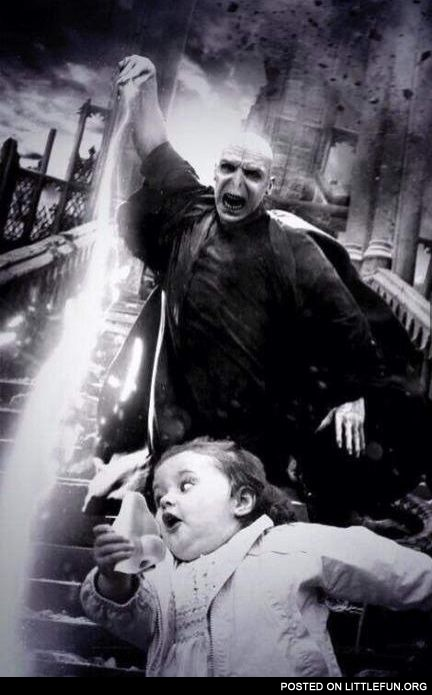 Lord Voldemort and the running girl