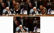 Confrontation between Vitaly Churkin and Samantha Power in UN. May be it's love? =)
