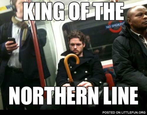 Littlefun king of the northern line