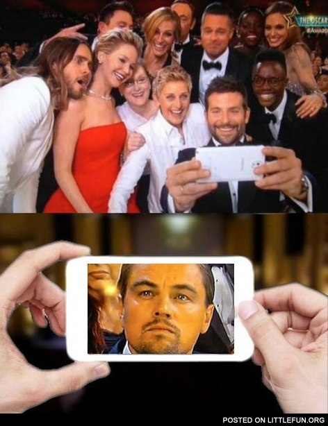 Poor Leo, no Oscar for you.