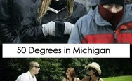 50 degrees in Florida vs. 50 degrees in Michigan