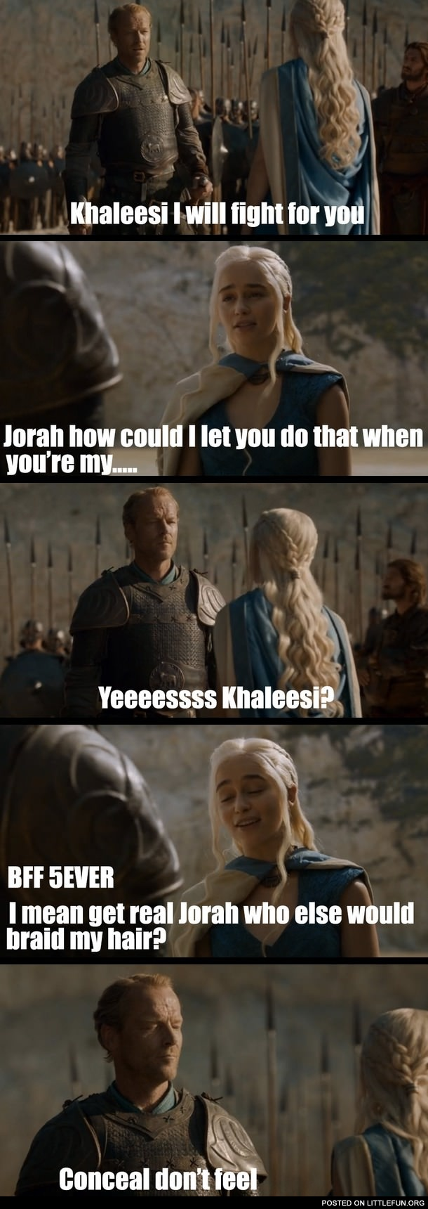 Friend zone level: Game of Thrones