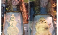 Jabba the Hutt cookie.