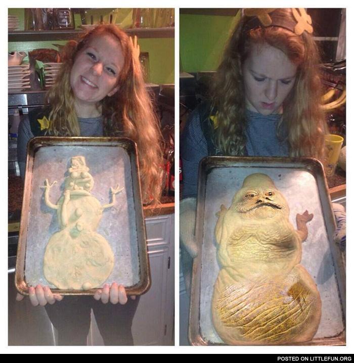 LittleFun - Jabba the Hutt cookie.