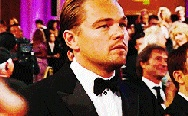 Leonardo DiCaprio begging for Oscar. Those eyes, lol.