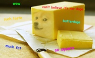 Doge butter.