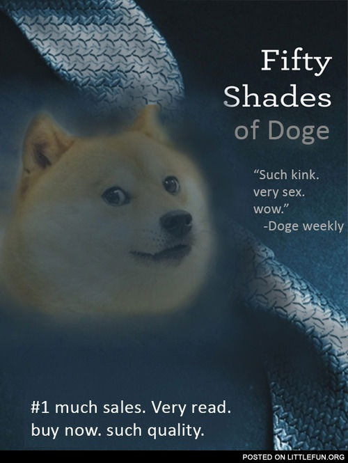 Fifty shades of doge