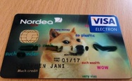 Doge credit card.