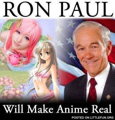 Ron Paul anime