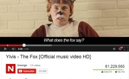 "What does the fox say? Do you people even watch Dora? The fox says ""Awww man""."