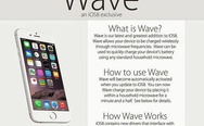 Microwave charge iphone.