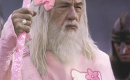 Gandalf Hello Kitty Dress