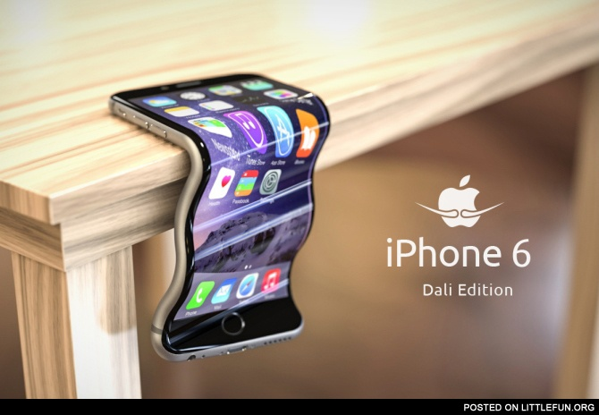 iPhone 6. Dali edition.