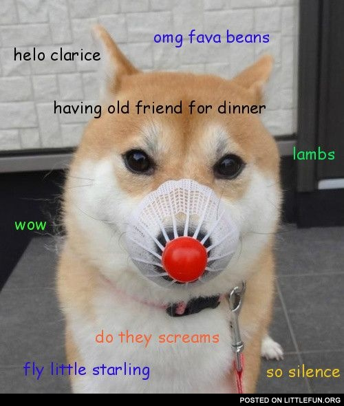Silence of the doge.