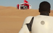 "The secret of a black man in a ""Star Wars: Episode 7 trailer"" uncovered."