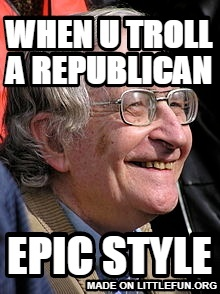 when u troll a republican, epic style
