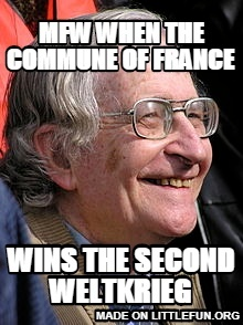 mfw when the commune of france, wins the second weltkrieg